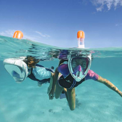 Our New Easybreath snorkeling masks