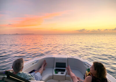 first row seats for the sunset