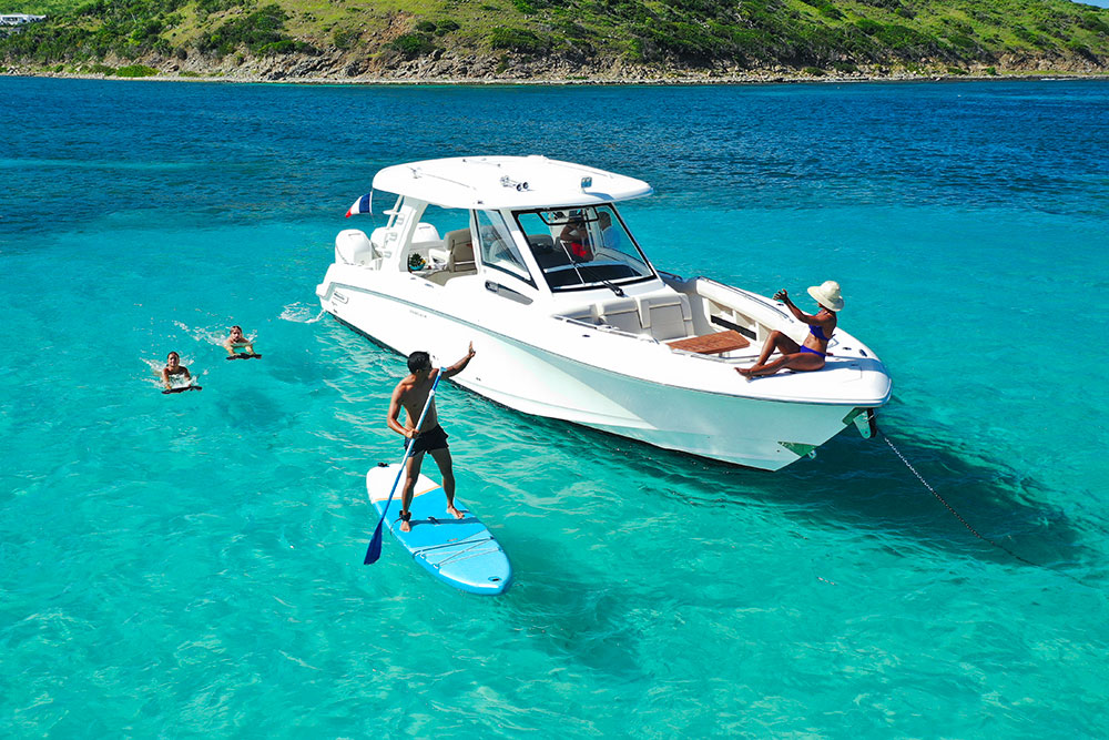 Have fun with our onboard watersport
